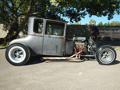 1927 Ford Model T Tall T 1927 FORD TALL T COUPE REAL MEXICO BARN FIND 1960'S HOT RAT ROD 1932 MODEL A 30