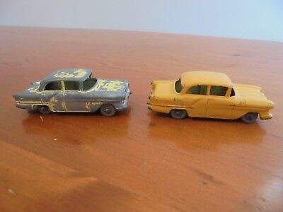 Matchbox Lesney Diecast Toy Cars Vauxhall Victor No. 45 Lot of 2 Used Condition