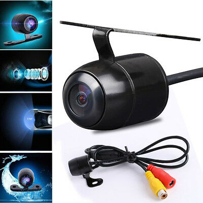 170° CCD Wired Car Reverse Rear View Backup Camera IR Night Vision Parking Kit