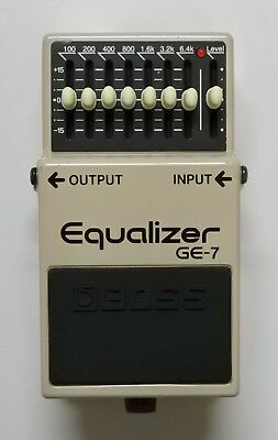 BOSS GE-7 Equalizer Guitar Effects Pedal #36 F/S w/Tracking