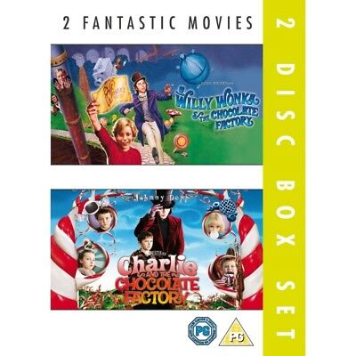 Willy Wonka And The Chocolate Factory & Charlie And The Chocolate Factory DVD