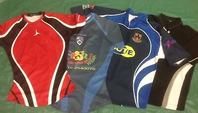 Bulk Lot Of 9 New Rugby Jerseys. Medium, Large, XL. players style & supporter