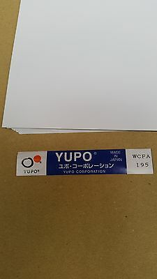 Yupo WCFA 195 - 155 GSM (195 micron) Synthetic Paper 10 sheets 220mmx320mm