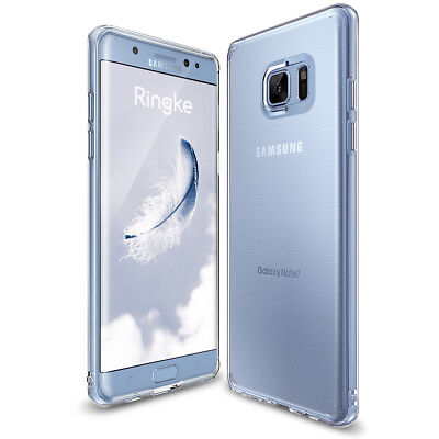 Galaxy Note FE Case, Ringke [AIR] Weightless as Air Soft Flexible Sturdy Cover
