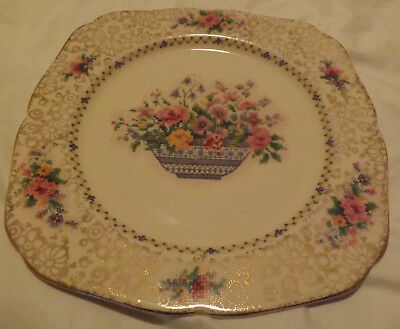 H & K, Tunstall Square Luncheon Plate