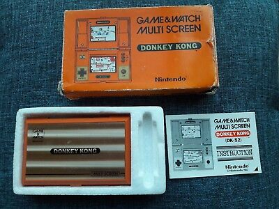 Game & watch Nintendo Donkey Kong complet