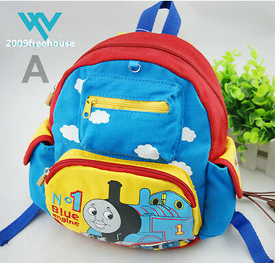 Disney Thomas&Friends Children's Boys Carton Cute Blue Edition School Backpack-4