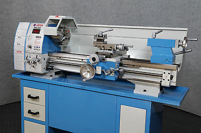 """WEISS WBL290F Bench Top 11"""" x 29"""" LATHE - Belt Drive ALL Leadscrews are Imperial"""