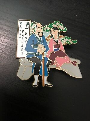 DSF Surprise Fathers Day Mulan Pin LE 400 DSSH DSF
