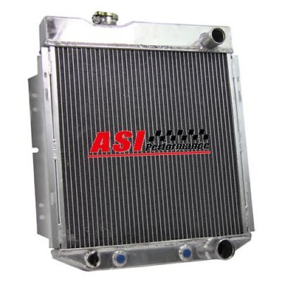 3 Row Aluminium Radiator For Ford Mustang V8 289 302 Auto Manual 1964-1966 Uk