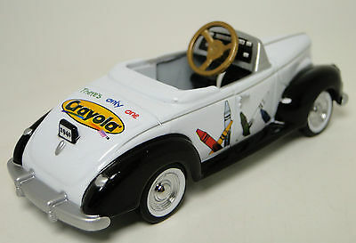 1940s Ford Pedal Car A Vintage Classic Hot T Rod Midget Metal Model White