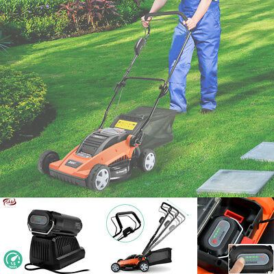Lawn Mower Cordless Lawnmower Lithium Battery Power Electric Garden Gi-Power 370