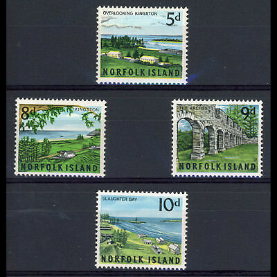 NORFOLK Is 1964 Views. SG 51-54. Lightly Hinged Mint. (AR233)