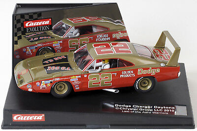 Carrera USA Evolution Slotcar Dodge Charger Daytona Nascar No.22 NEU! OVP!