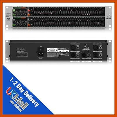 Behringer Ultragraph Pro FBQ3102HD High-Definition 31-Band Stereo Graphic EQ
