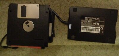 USB Portable Diskette Drive - 3.5IN  - Floppy Disk Drive -  over 20 diskettes