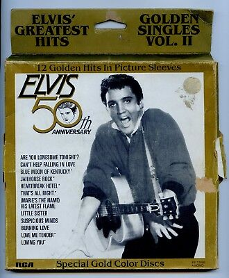 Elvis Presley USA Golden Singles Vol.2 OUTER BOX ONLY NO VINYL