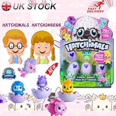 Master Hatchimals Hatching Egg with Nest Play Set Pack of 4 Collectable Toys UK