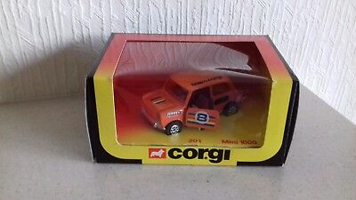 Corgi Toys 201 Mini 1000 Orange Boxed Rare