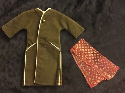 Tressy Fifth Avenue Coat Olive Green & Scarf American Character Fashion Doll