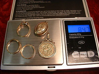 9 ct gold rings 9ct pendant 9ct gold george medallion