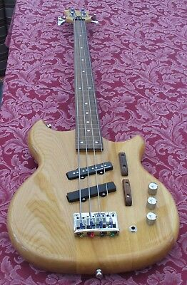 Ace Short Scale Fretless Bass - Light, Comfortable, Fast Playing With Real Punch