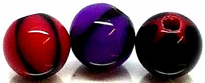 CHOOSE from 3 Colours 5mm Bead UV Acrylic Spare/Replacement Balls Parts UK