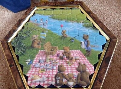 CERAMIC JIGSAW by JAMES PETERS HONITON- TEDDY BEARS' PICNIC (#11397264)