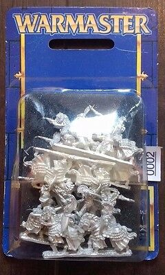 High Elf Silver Helms - Warmaster - Elven Army - New in Blister 1999 (BNIB)