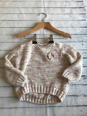 Baby Girls Clothes 6-9 Months - Lovely  Girl Jumper Top