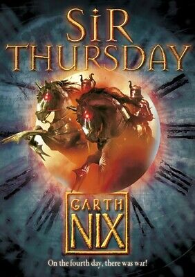 The keys to the kingdom series: Sir Thursday by Garth Nix (Paperback)