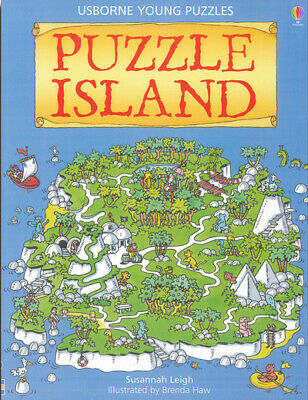 Usborne young puzzles: Puzzle island by Susannah Leigh Brenda Haw (Paperback)