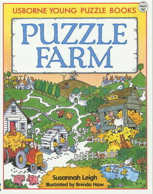 Young Puzzles S.: Puzzle Farm by Susannah Leigh Brenda Haw (Paperback)