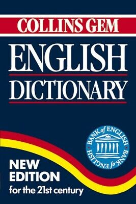 Collins gem: English dictionary (Paperback) Incredible Value and Free Shipping!