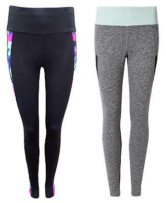 Ladies Ex- Marks and Spencer M&S Sports Fitness Running Leggings Exercise