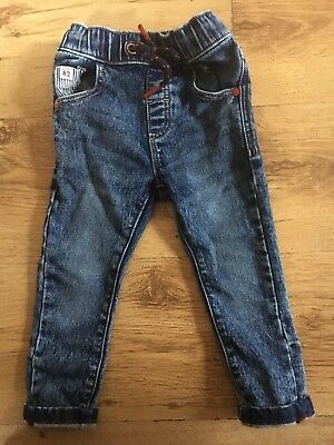 Boys Next Star Jeans Age 1.5-2 Years