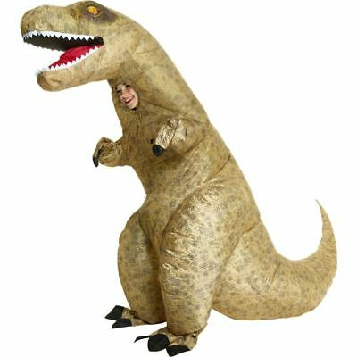Kids Giant Inflatable T-Rex Boys Fancy Dress Costume - One Size