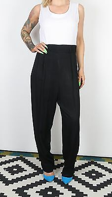 Jumpsuit UK 14 Large All in one 1980's Vintage  80's (63G)