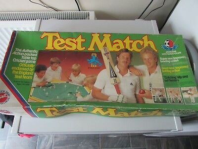 Test Match by Peter Pan Playthings Ltd - Retro Classic 1980s Cricket Game Parts