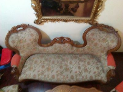 19Th Century Sofa In Good Condition Need Relining