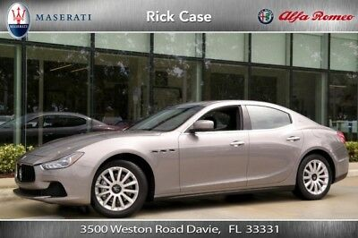 2014 Maserati Ghibli Base Sedan 4-Door 2014 Turbo 3L V6 24V Automatic RWD