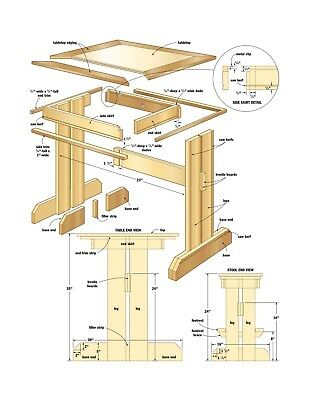 DiY WoodWorking 4 dvd Woodwork - Step-by-Step Photographic Guide shop notes