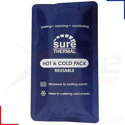 Sure Thermal Luxury Reusable Hot Cold Ice Gel Pack First Aid Medical Sports Heat