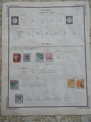 Cyprus Old Collection 1880-1903 Extra Fine Dr Schultz Estate !!8892C