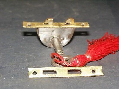 Antique Writing Slope Working Lock And Key Victorian