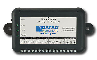 DI-1100 Data Acquisition USB DAQ System, 12-bit, 80 kHz