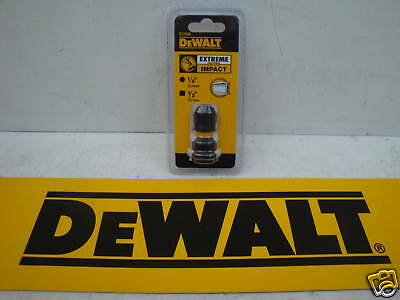 """Dewalt Dt7508 Impact Wrench To Driver Attachment 1/2""""square To 1/4""""hex Adaptor"""