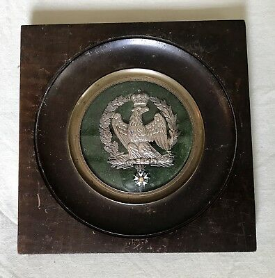 Cadre Medaille Napoleon Ancien Militaire Militaria French Medals Military