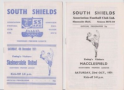 SOUTH SHIELDS v MACCLESFIELD TOWN 23/10/1971