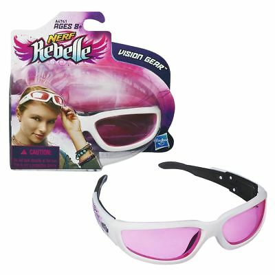 New Nerf Rebelle Vision Gear Protective Sunglasses Kids Goggles Glasses Official